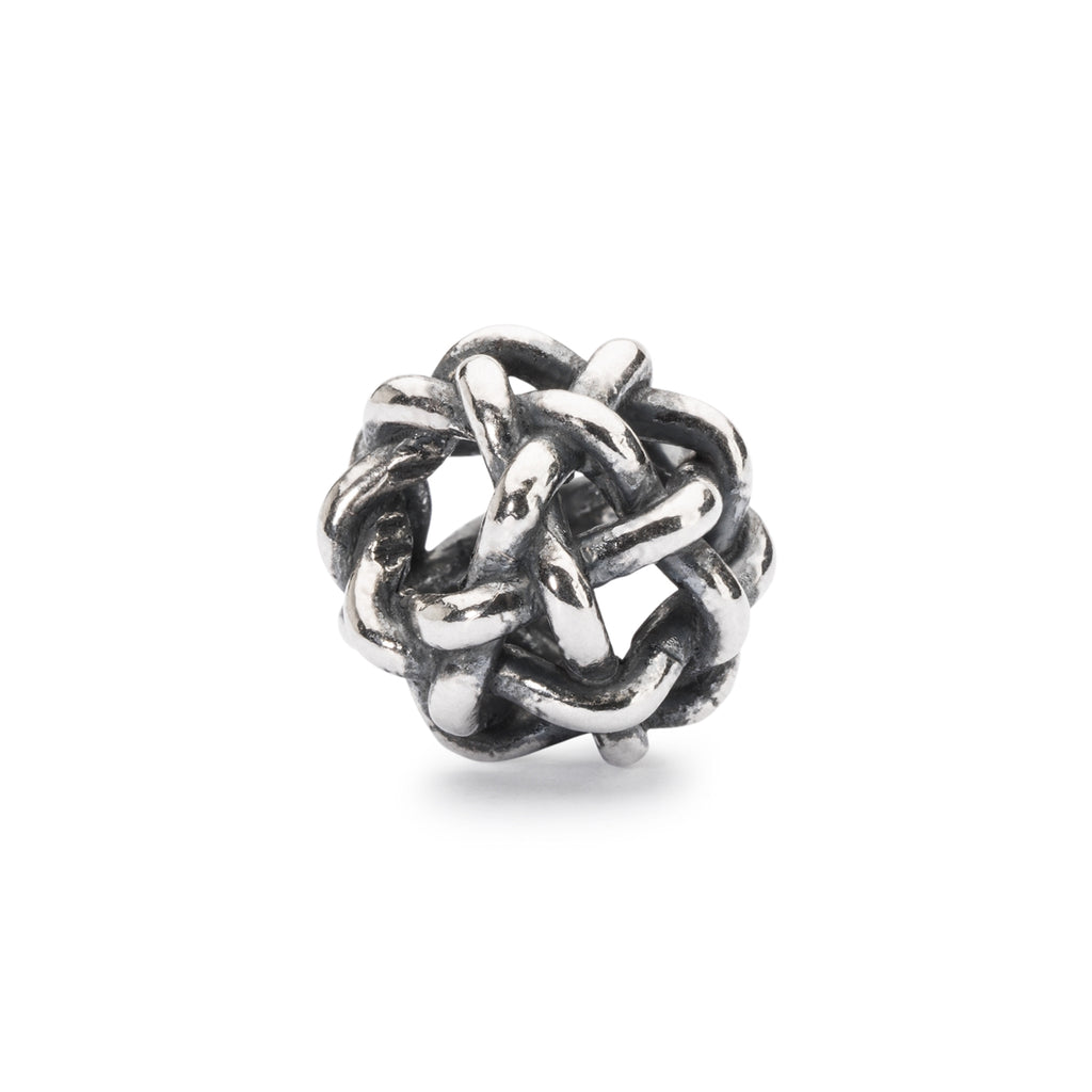 Trollbeads Charms Silver Starry Night