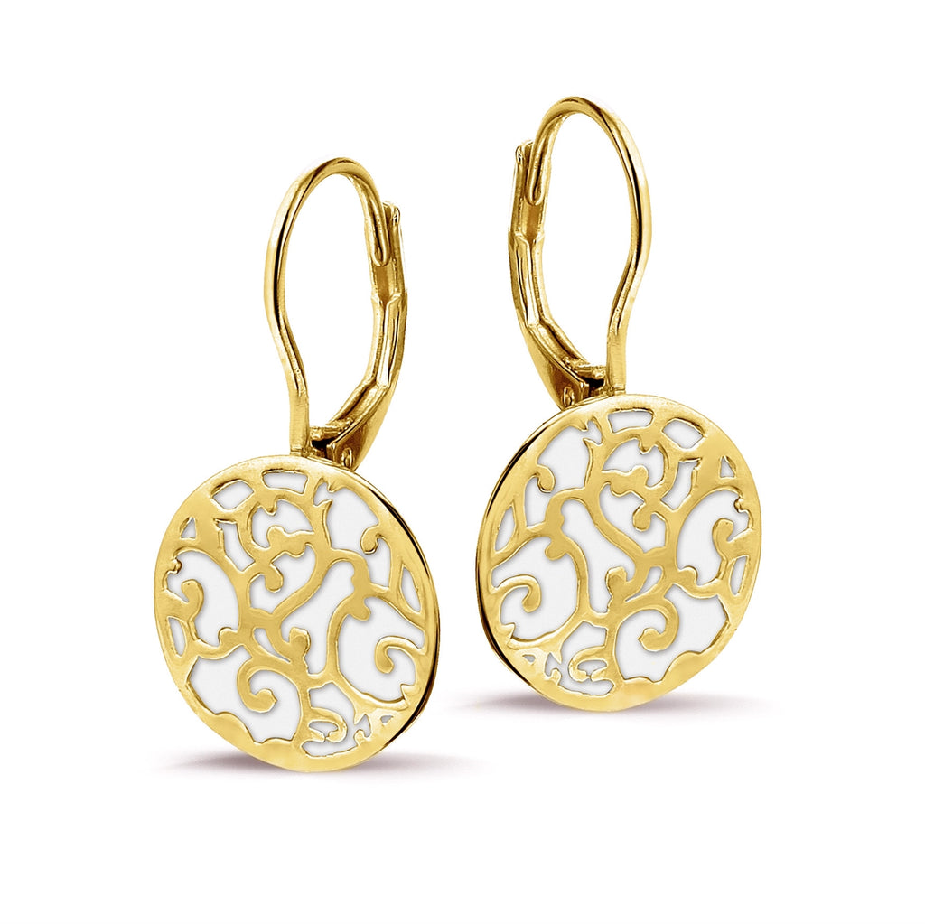 Phantasya Jewellery Gold Drop Earrings
