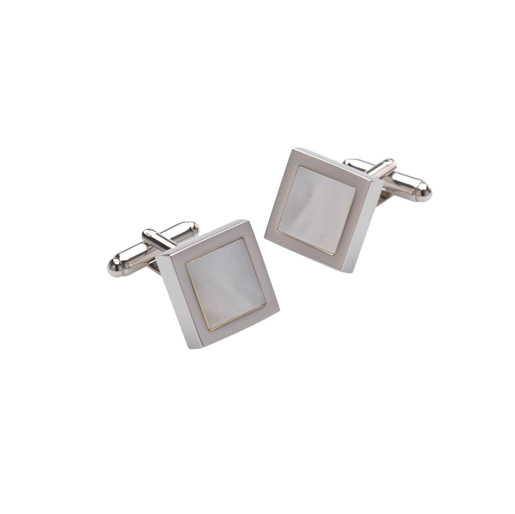 Duncan Walton Cufflinks Mensa Mother of Pearl