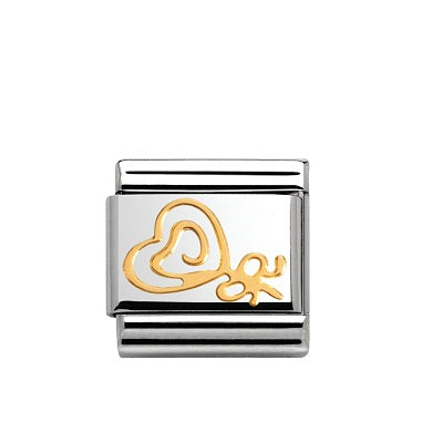 Nomination Charms 18ct Gold Lolly