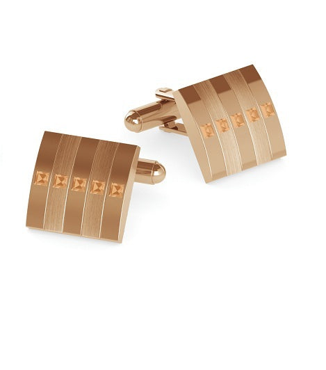 Duncan Walton Cufflinks Radan Rose Gold