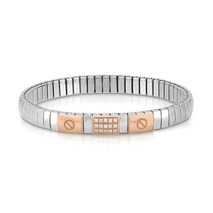 Nomination Extension Bracelet Rose Gold with CZ. Nomination Extension Bracelet  Rose Gold with CZ 60e8145f87a4