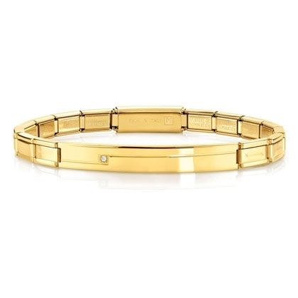 Nomination Trendsetter Bracelet Gold with CZ