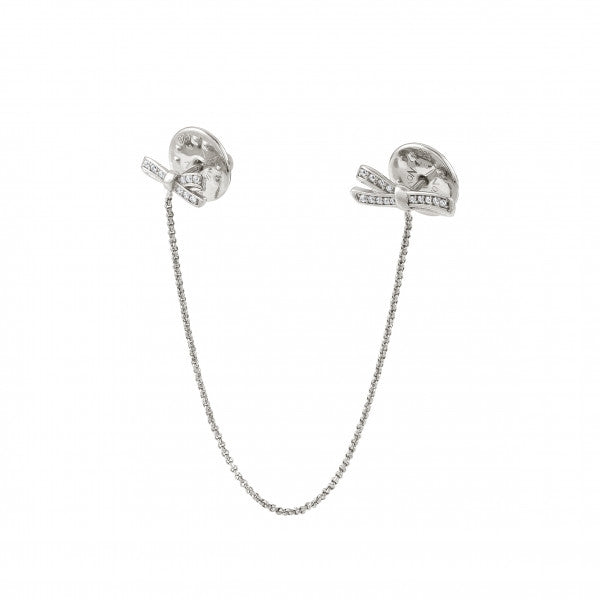 Nomination MYCHERIE COLLAR TIPS WITH CHAIN AND BOW Silver