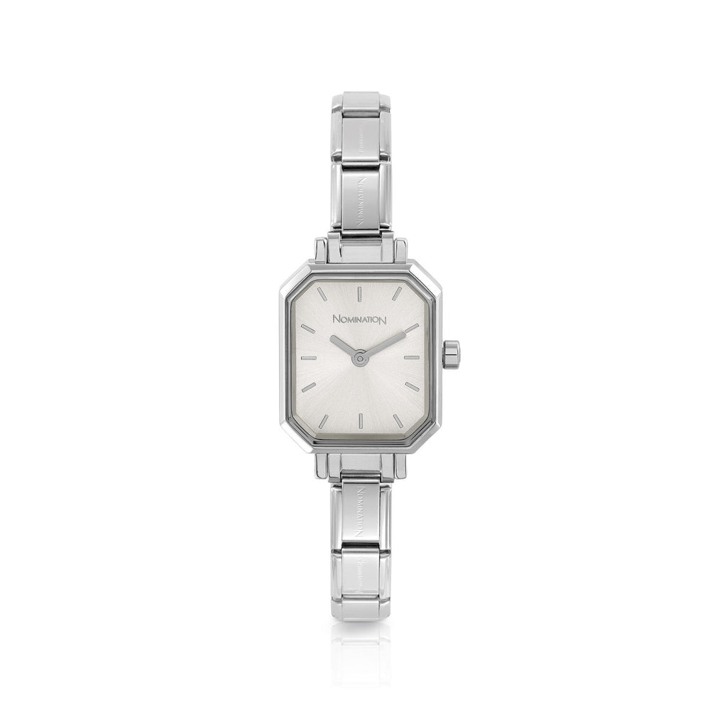 Nomination Paris watch Silver dial Rectangular 076030/017