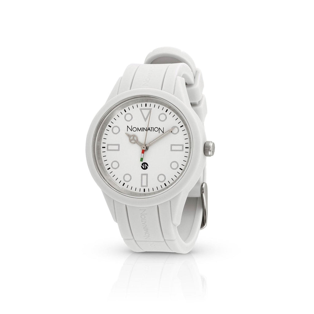 Nomination White Silicon Straptime Watch 071221/000