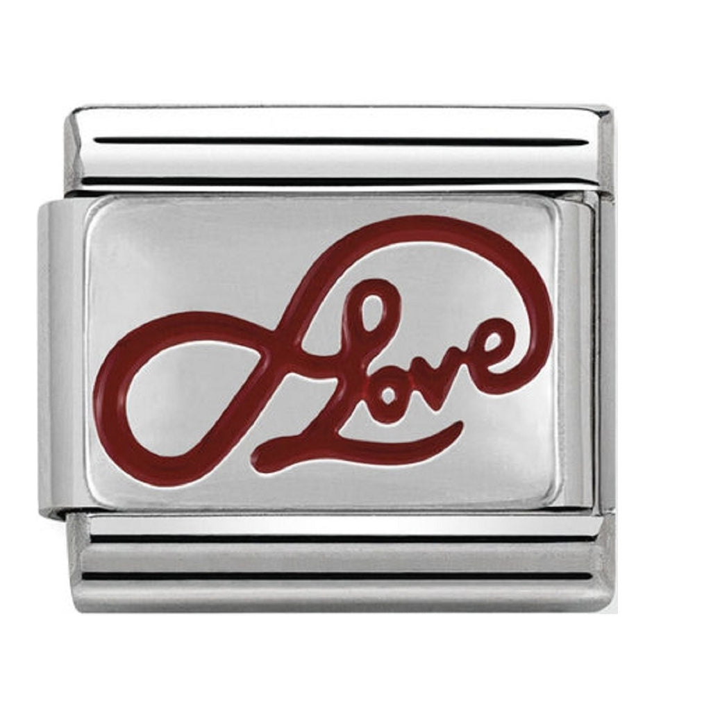 Nomination Charms Infinite love Silver and Enamel