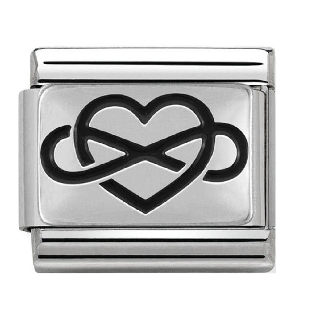 Nomination Charms Infinity Heart Silver