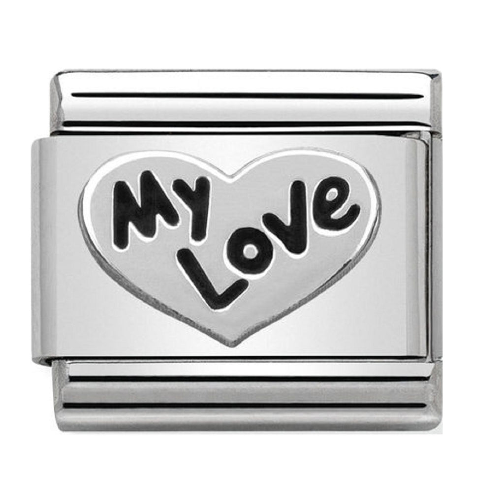 Nomination Charms My love Heart