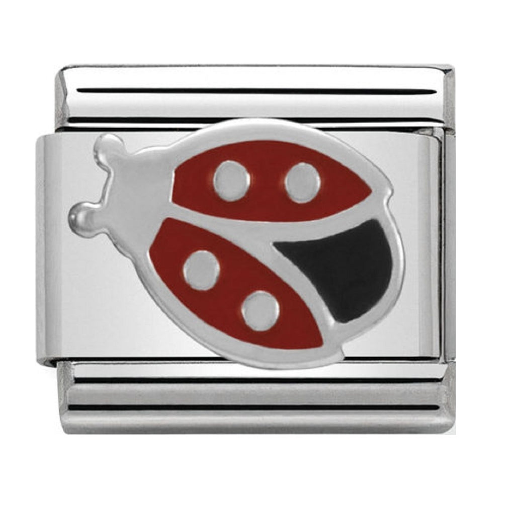 Nomination Charms Silver and Enamel Ladybird