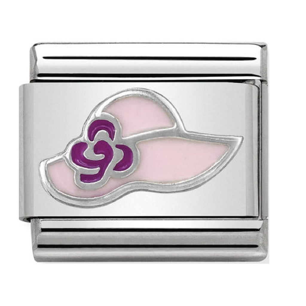 Nomination Charms Silver and Enamel Sun Hat