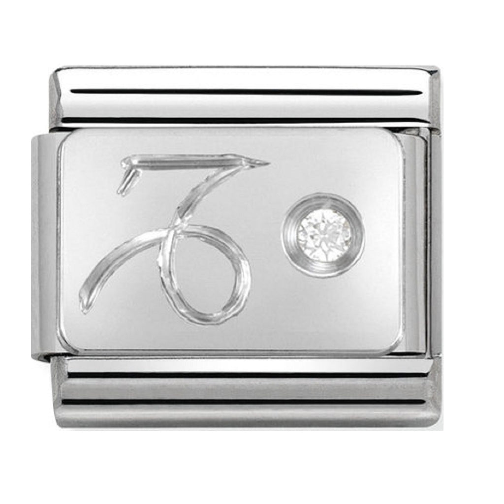 Nomination Charms Zodiac Capricorn Silver Shine