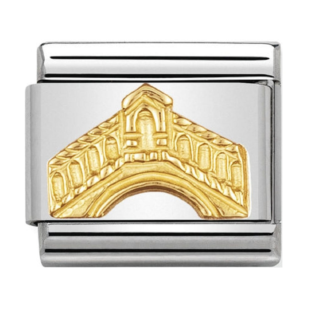 Nomination Charms 18ct  Rialto Bridge