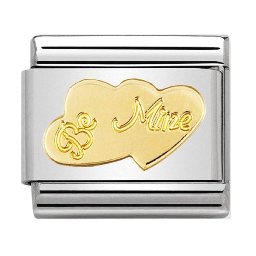 Nomination Charms 18ct Be mine
