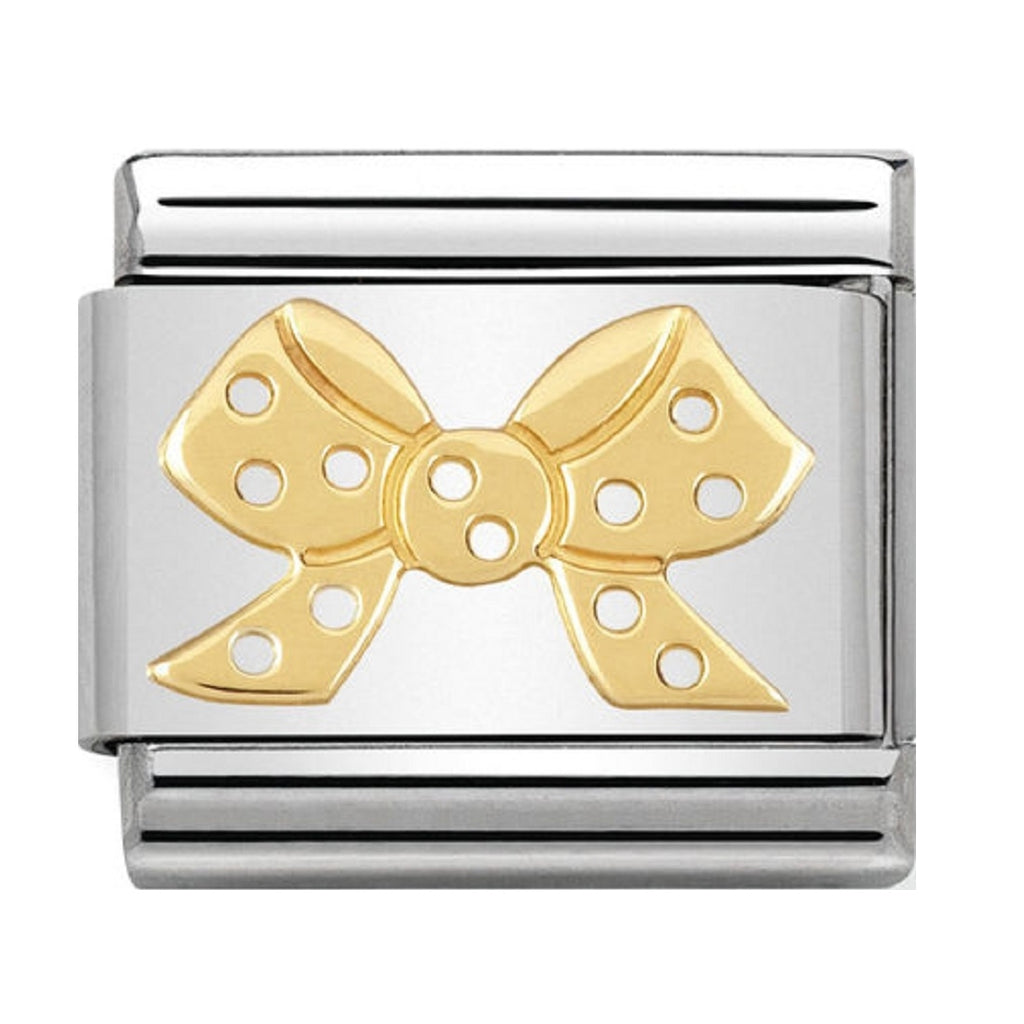 Nomination Charms 18ct Bow