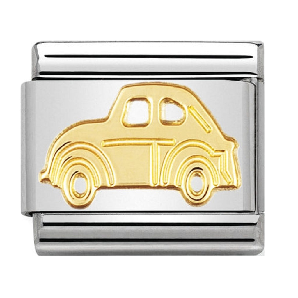 Nomination Link 18ct Gold Car