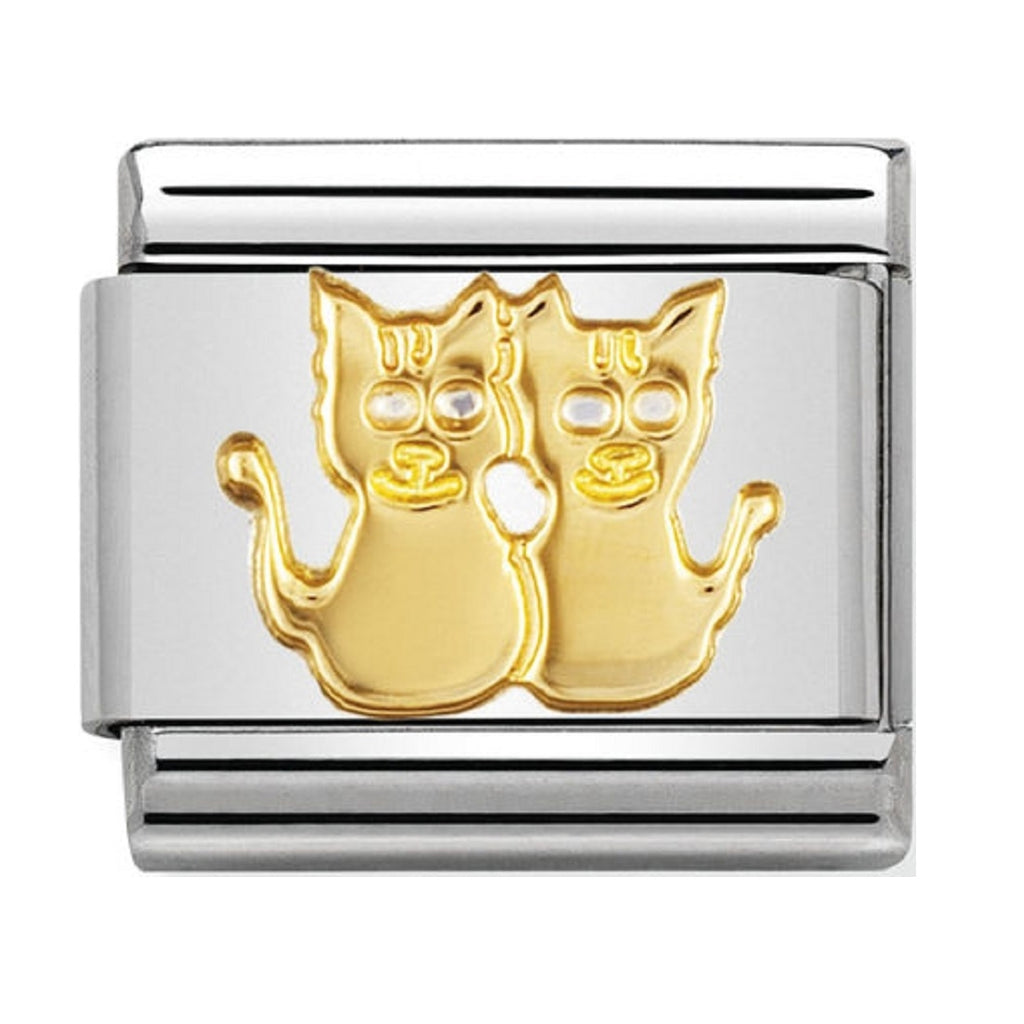 Nomination Charms 18ct Cats
