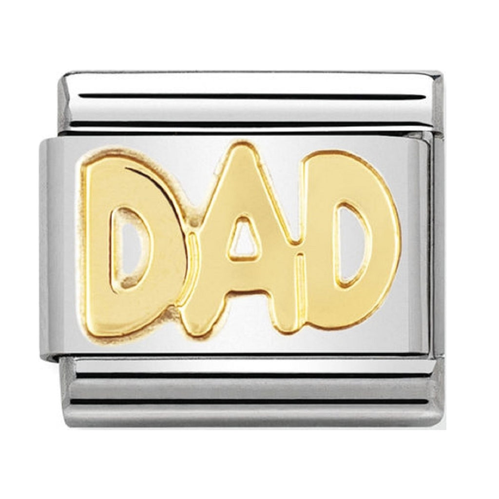 Nomination Charms 18ct Classic Dad
