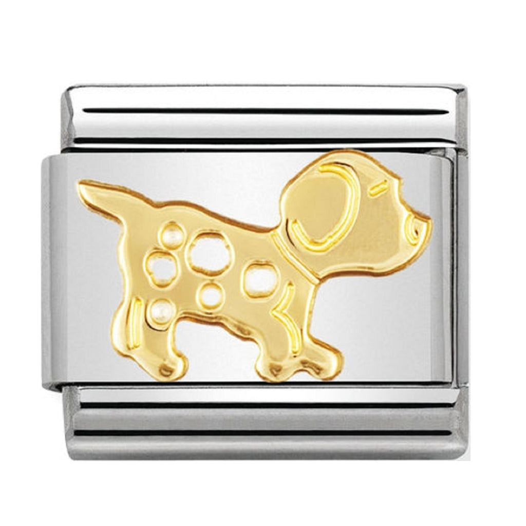 Nomination Charms 18ct Dog