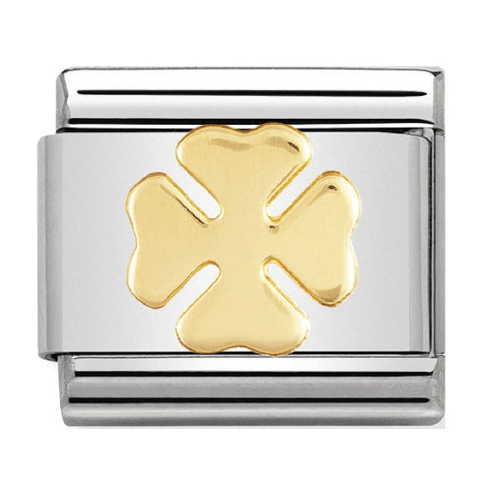 Nomination Charms 18ct Four-leaf Clover