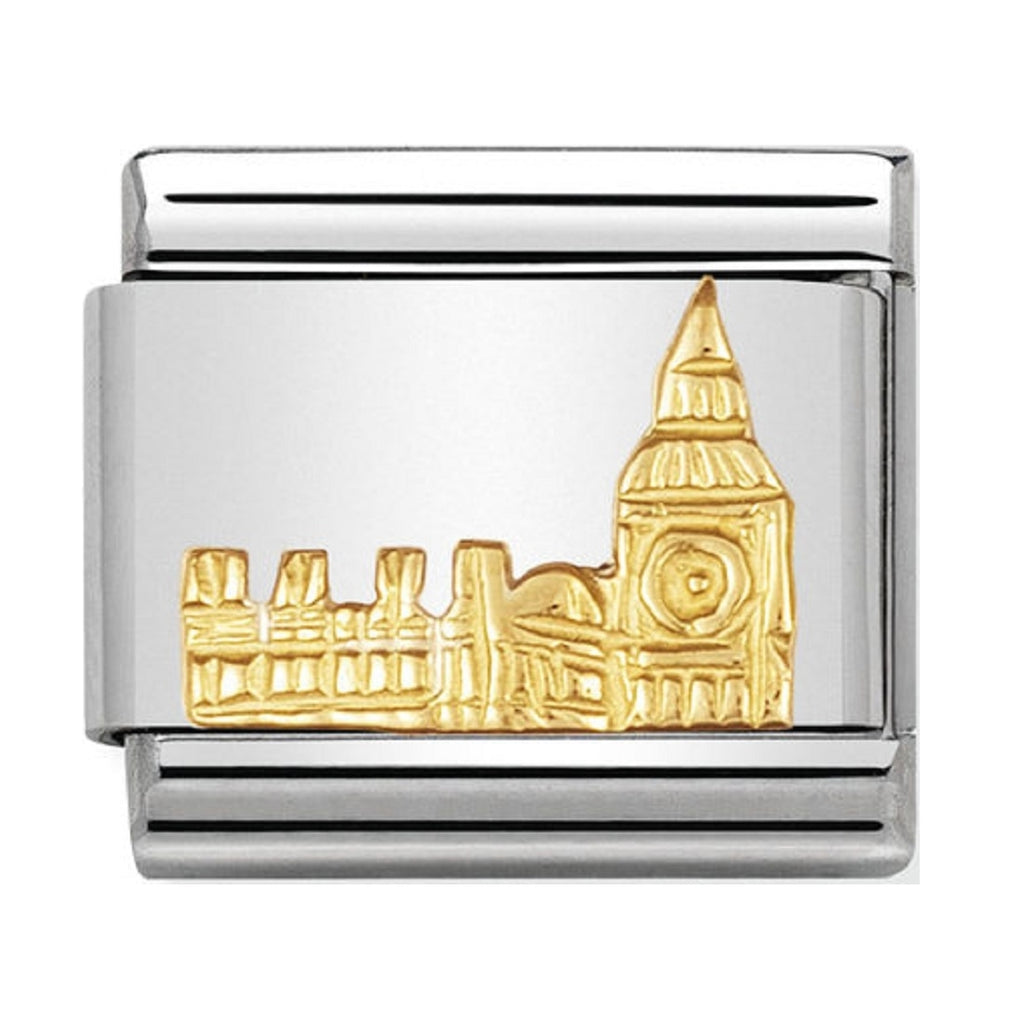 Nomination Charms 18ct Gold Big Ben 030123-01