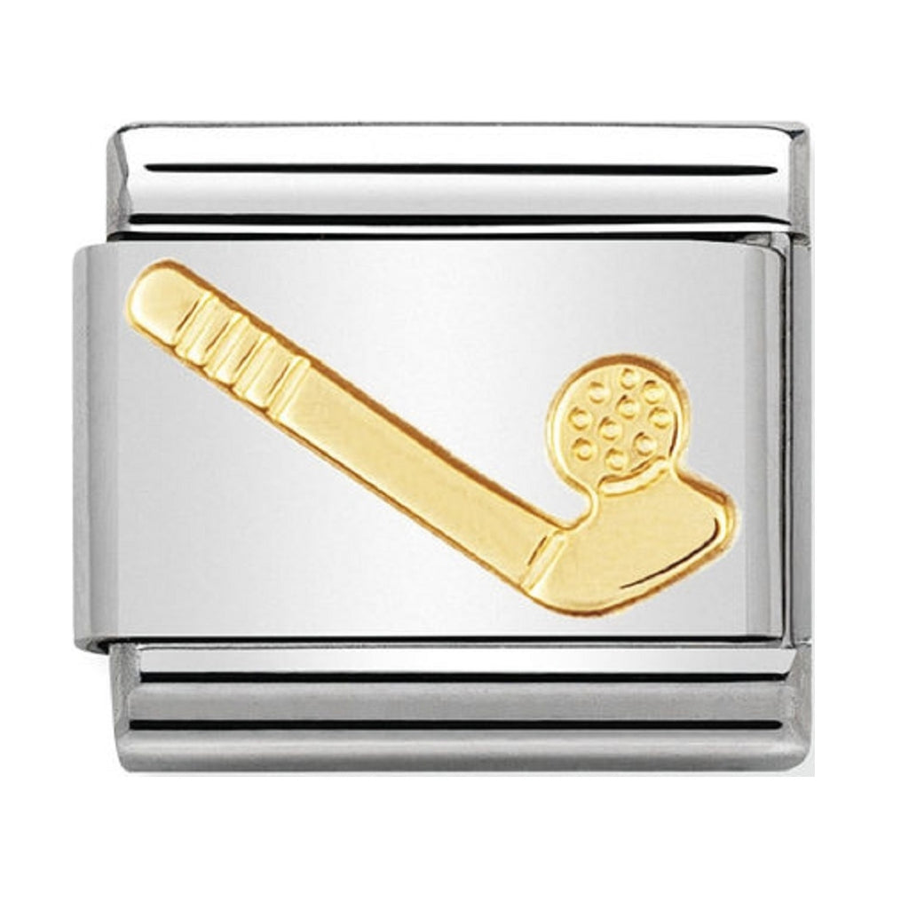 Nomination Charms 18ct Golf 1