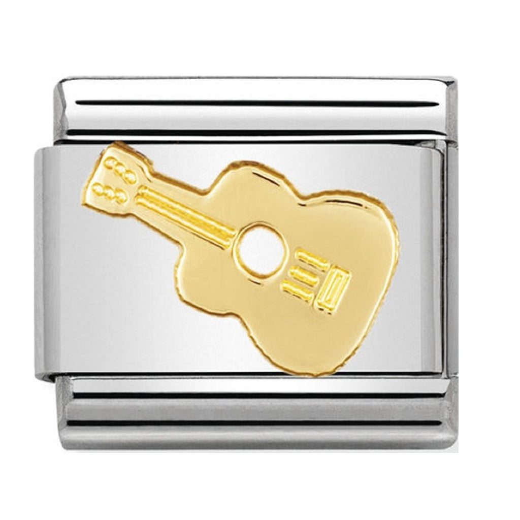 Nomination Charms 18ct Guitar