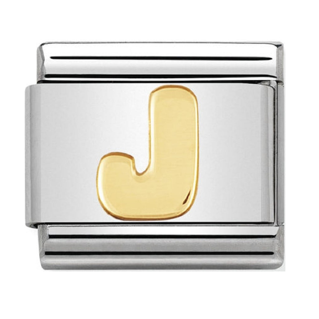 Nomination Charms 18ct Letter J
