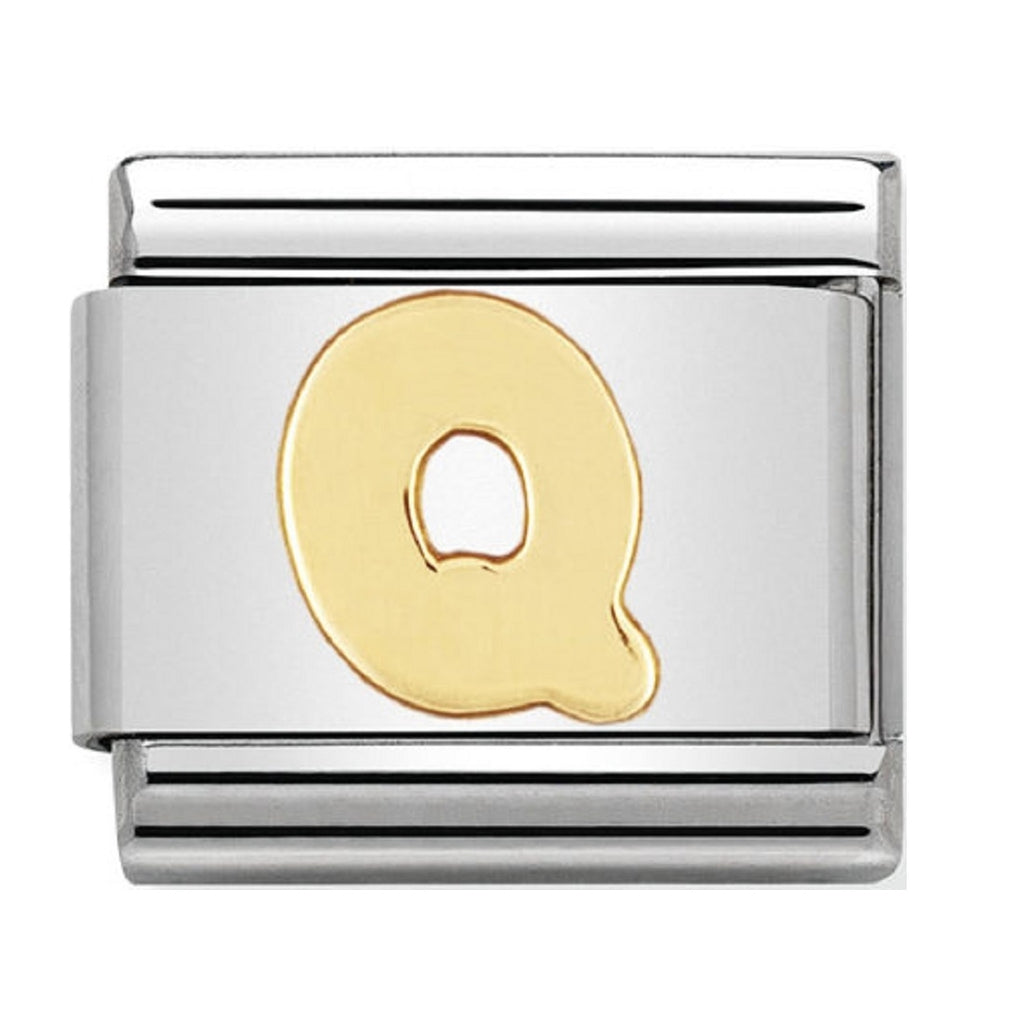 Nomination Charms 18ct Letter Q