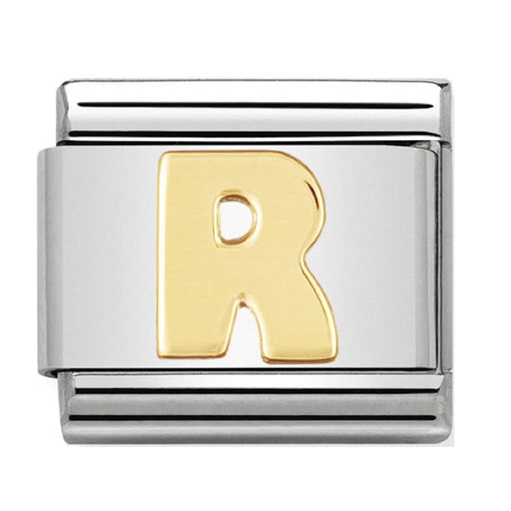 Nomination Charms 18ct Letter R
