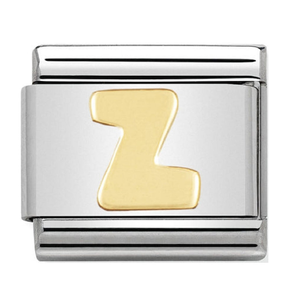 Nomination Charms 18ct Letter Z