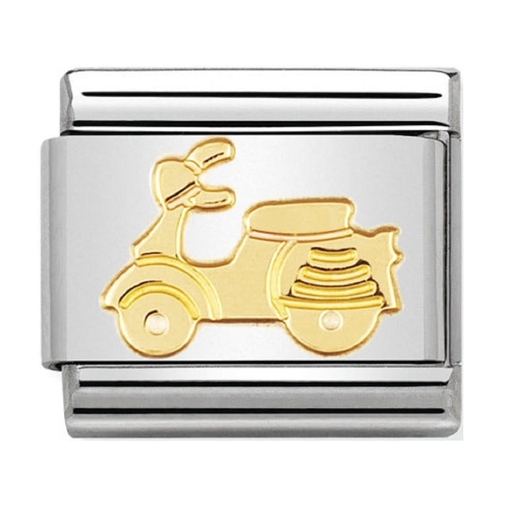 Nomination Charms 18ct Moped