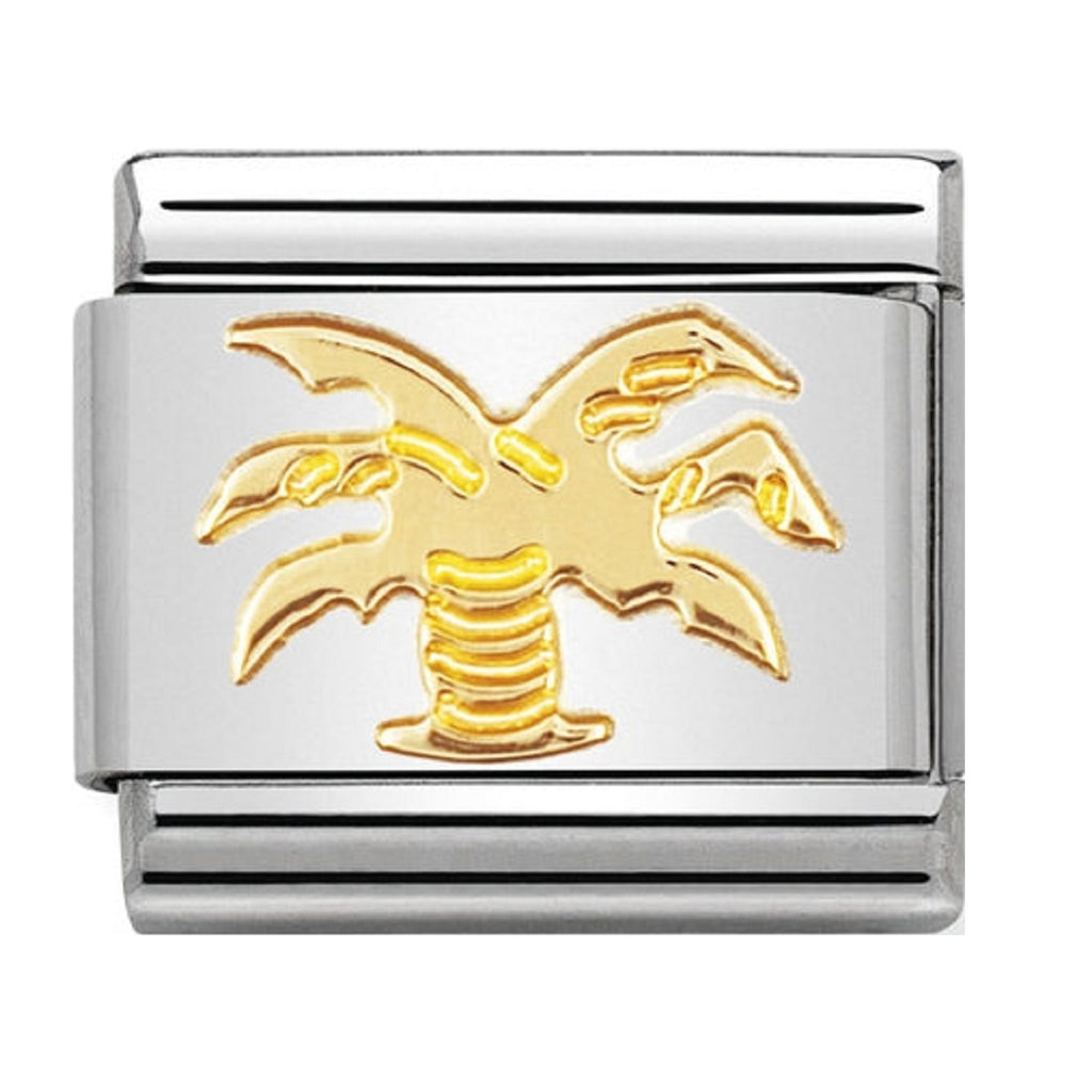 Nomination Charms 18ct Palm Tree