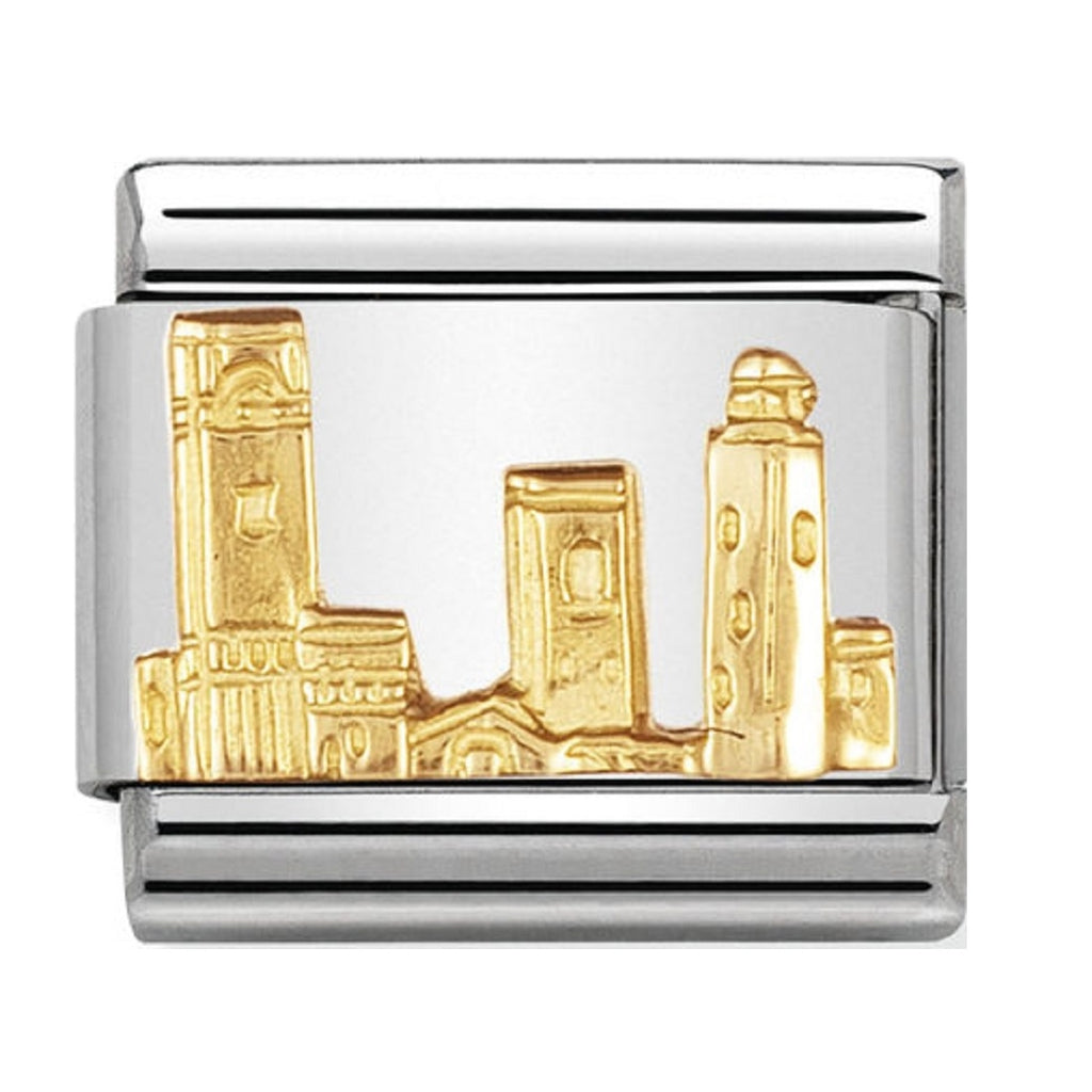Nomination Charms 18ct San Gimignano