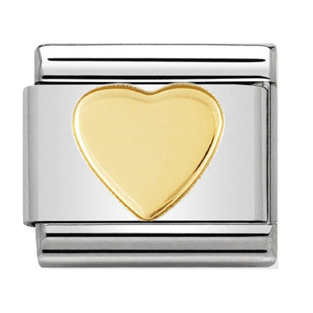 Nomination Charms 18ct Solid Heart