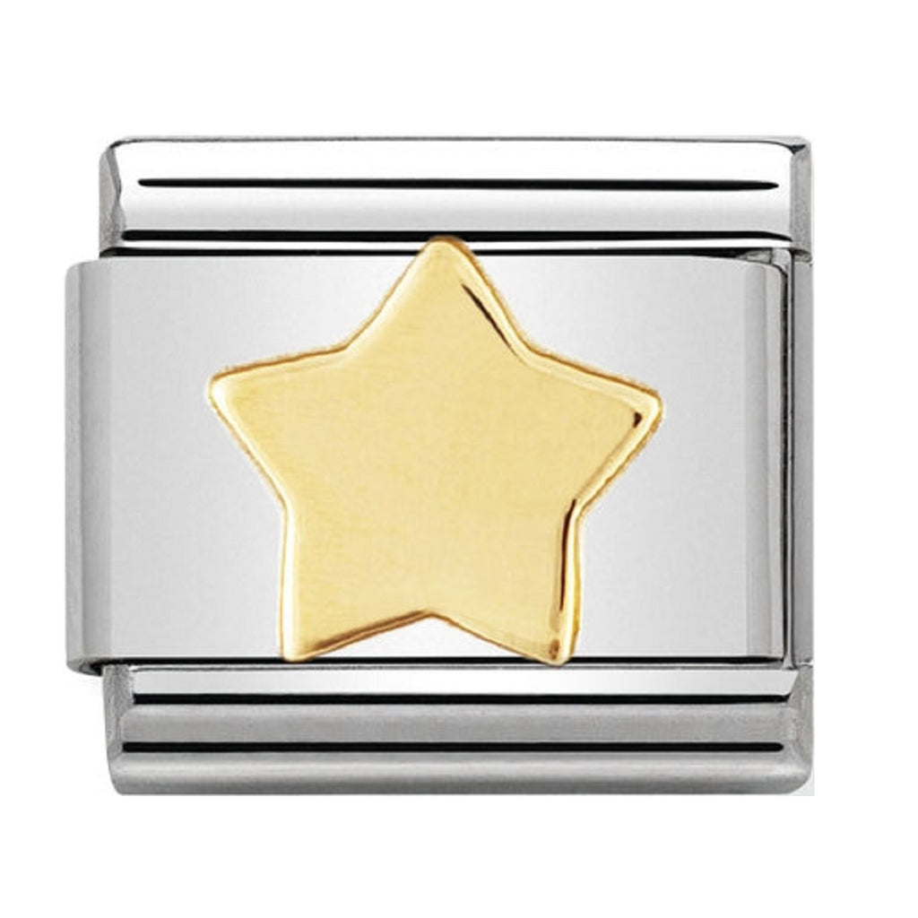 Nomination Charms 18ct Star
