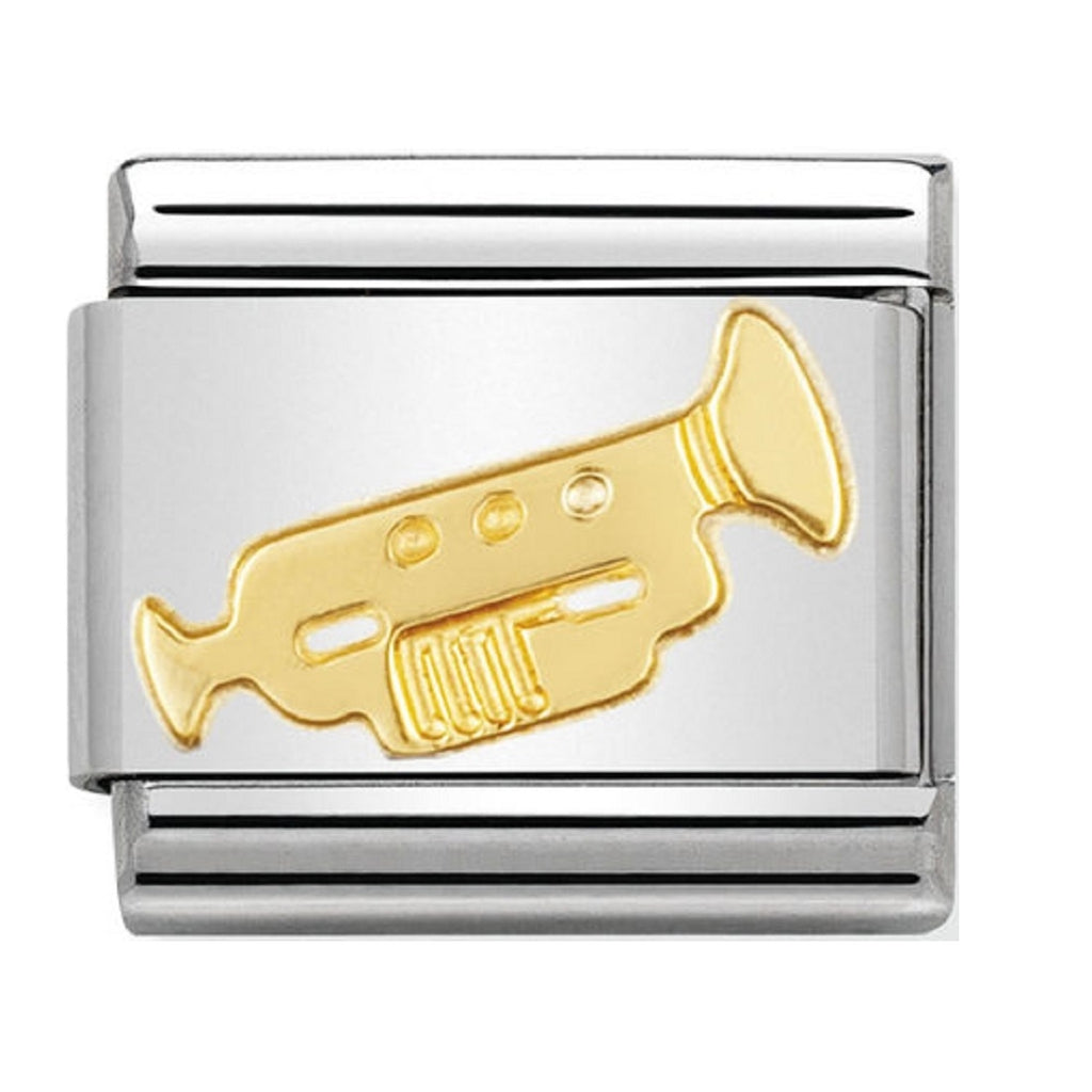 Nomination Charms 18ct Trumpet