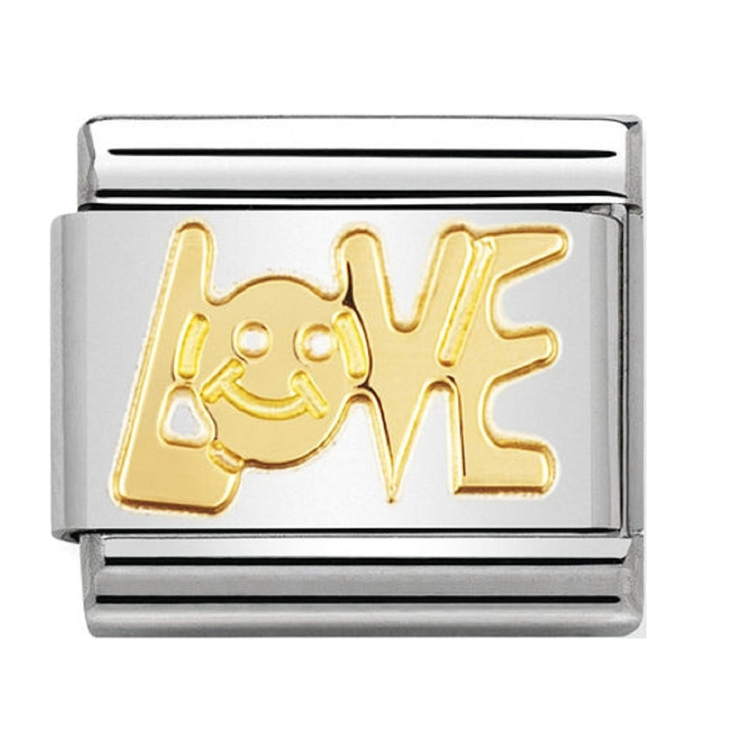 Nomination Charms Classic Gold 18ct Love