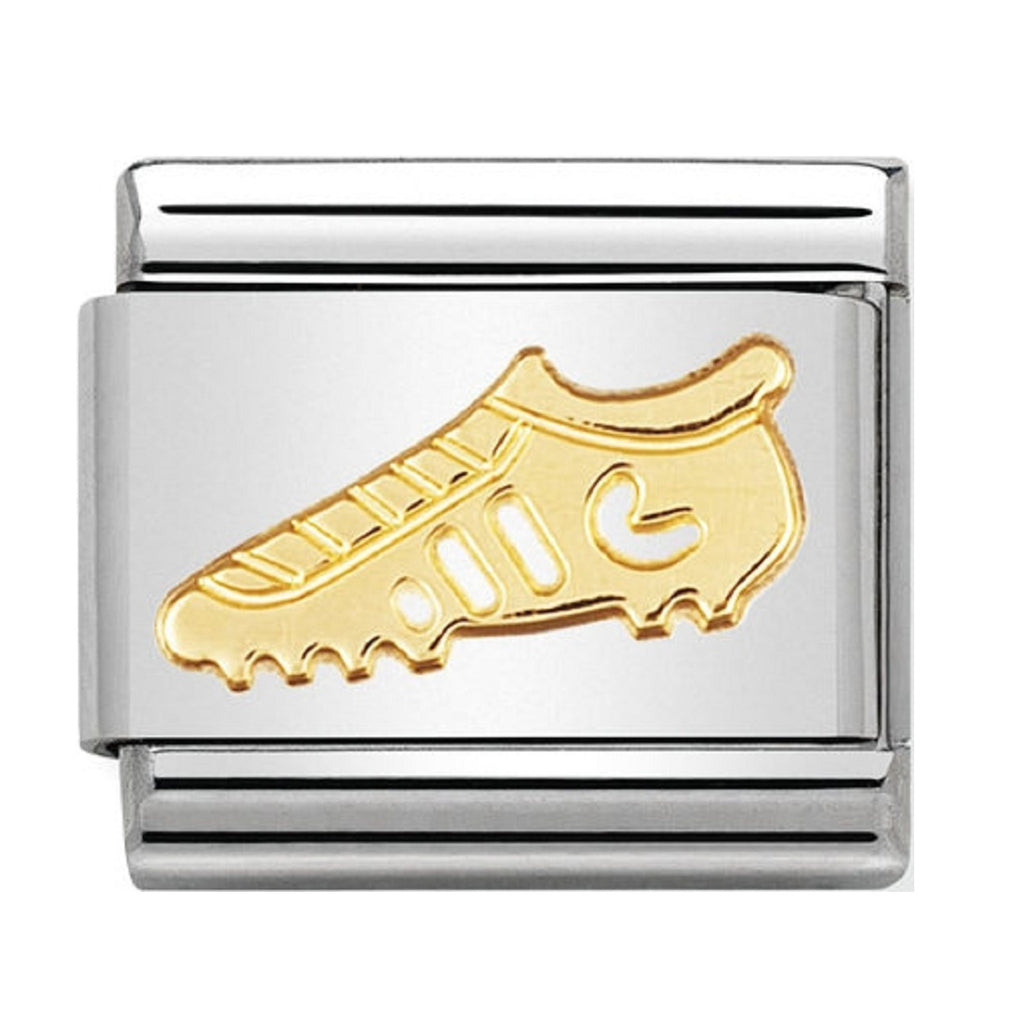 Nomination Charms Classic Gold 18ct Soccer