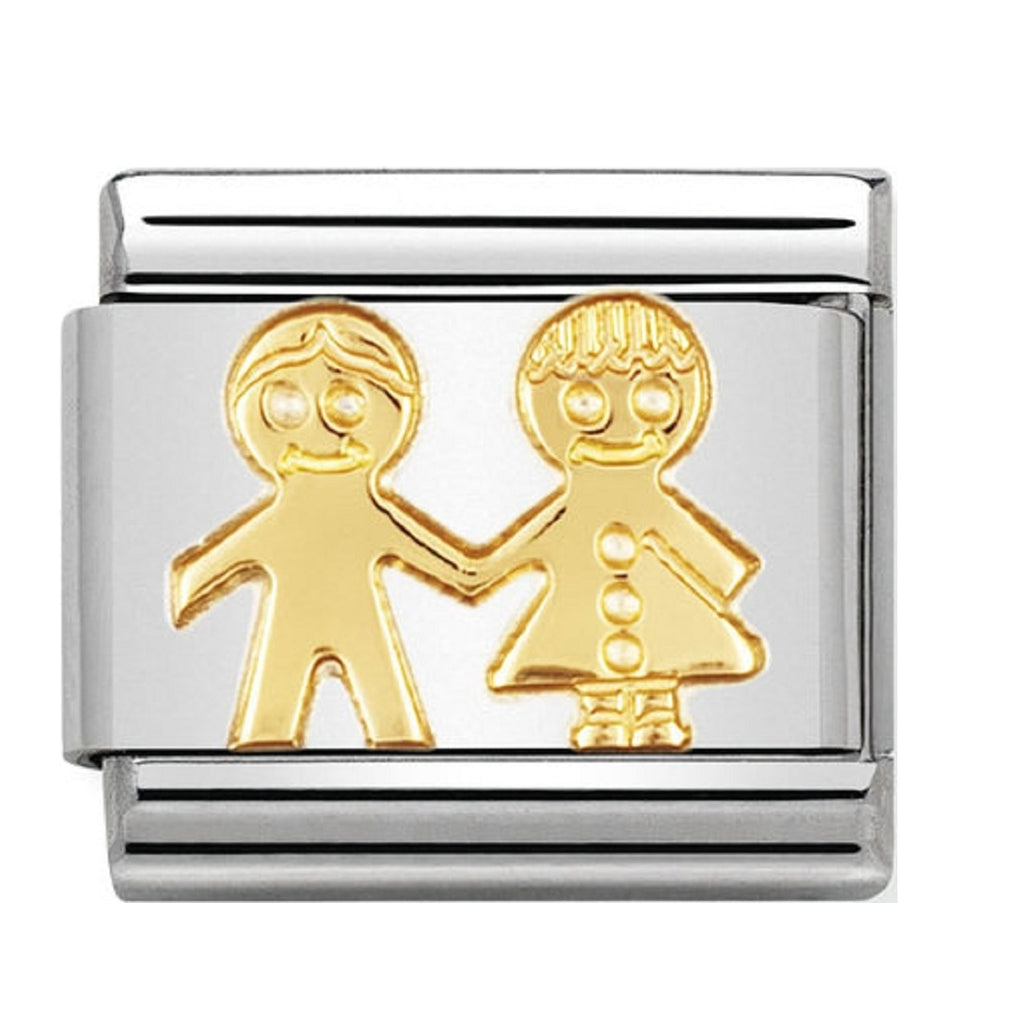 Nomination Gold 18ct Children Charms 030110-05