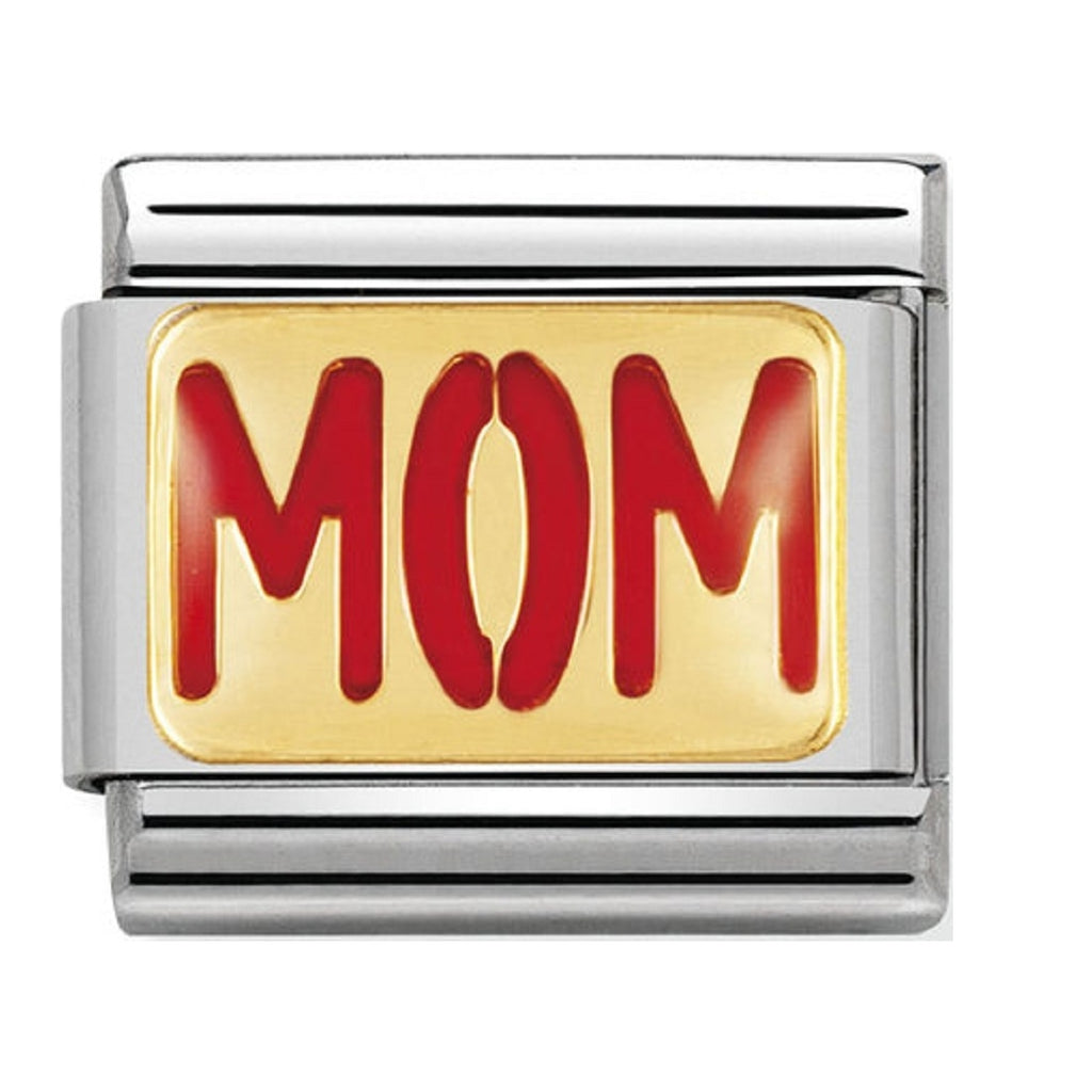 Nomination Charms 18ct and Enamel MOM