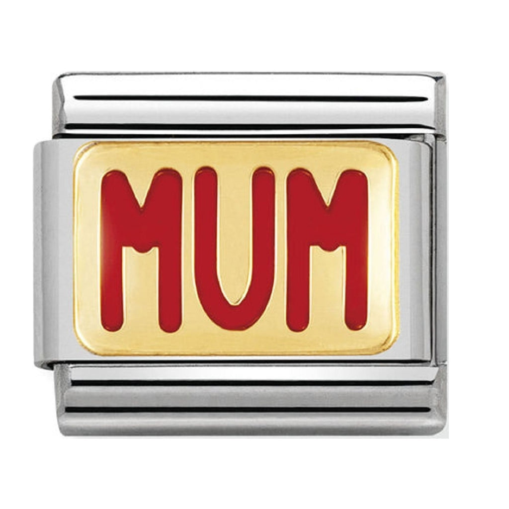 Nomination Charms 18ct and Enamel MUM 030229-39