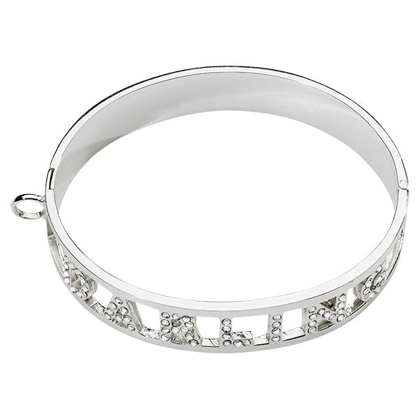 Nikki Lissoni Bracelet Darling Silver Plated with Swarovski 19cm