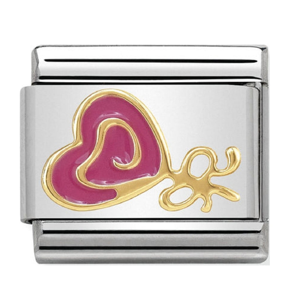 Nomination Charms 18ct Gold and Enamel Lolly