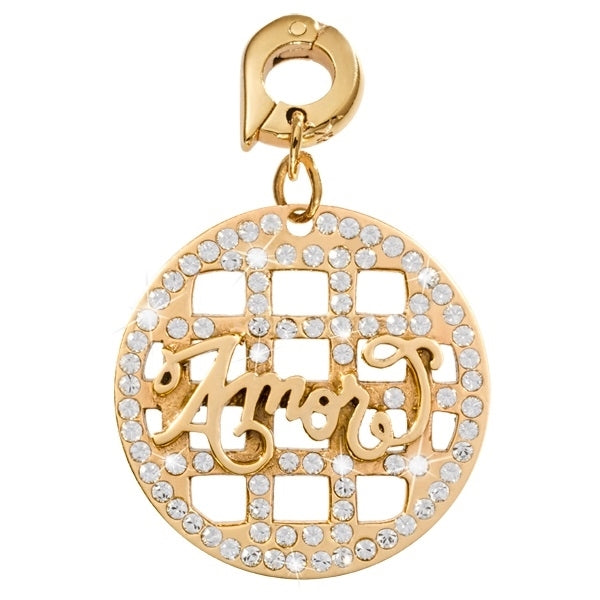 Nikki Lissoni Gold Plated Dangle Charm Amore