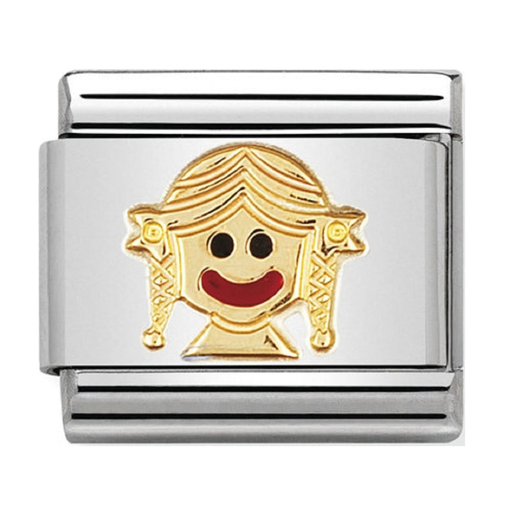 Nomination Charms Girl Classic Enamel
