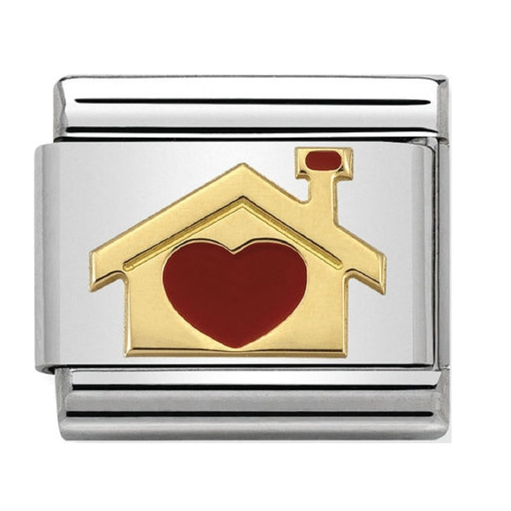 Nomination Charms Home with Heart 030283-07