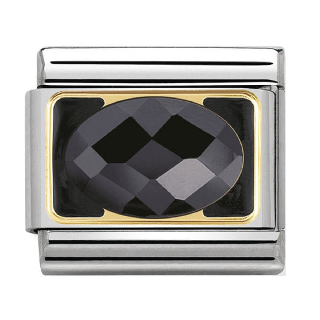 Nomination Charms Cubic Zirconia Black Classic Elegance