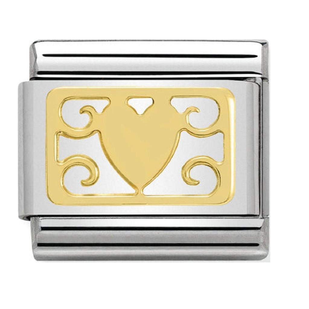Nomination Charms Heart Decoration Plaque Elegance