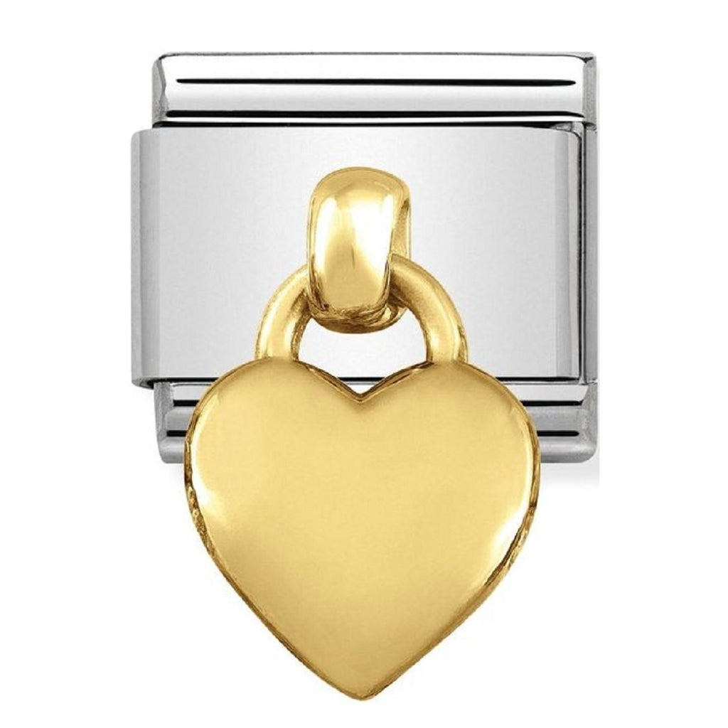 Nomination Charms 18ct Gold Heart Charm